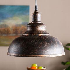 Bell Pendant Lamp, BLACK COPPER