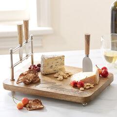 4-Pc. Cheese Platter Set,