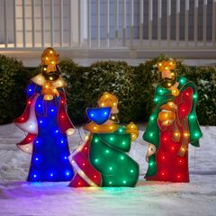 Set of 3 Wise Men Yard Decor,