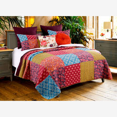 Normandy Quilt Set by Barefoot Bungalow, BROWN