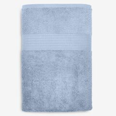 BH Studio Oversized Cotton Bath Sheet, WEDGEWOOD BLUE