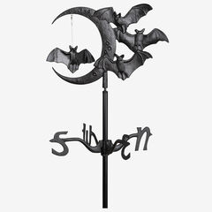 Halloween Bat Garden Weathervane,