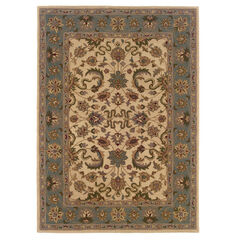 Trio Traditional Cream 8'X10' Area Rug,