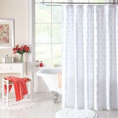 Georgia Chenille Shower Curtain,