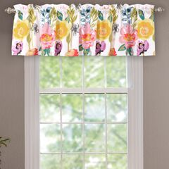 Watercolor Dream Window Valance by Greenland Home Fashions, WHITE