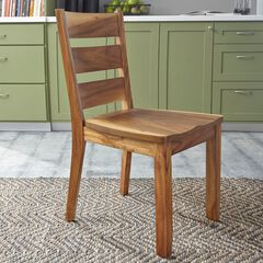Forest Retreat Pair of Side Chairs by Home Styles, WOOD