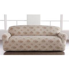 Floral Stretch Sofa Slipcover,