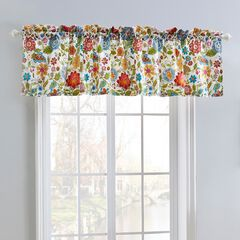 Astoria Spice Window Valance by Greenland Home Fashions, WHITE