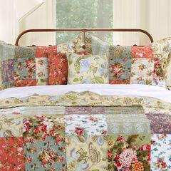 Blooming Prairie Bonus Quilt Set by Greenland Home Fashions,