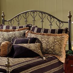 "King Headboard with Headboard Frame, 71½""Lx78½""Wx57""H,"