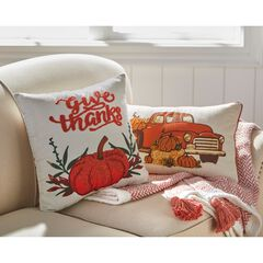 Holiday Decorative Pillows, GIVE THANKS