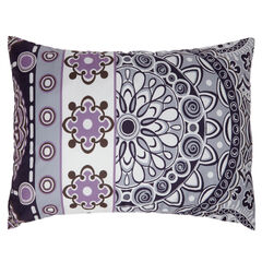 BrylaneHome® Studio Ashley Sham, PURPLE MULTI