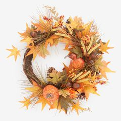 Harvest Wheat Wreath, MULTI