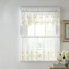 Blossoms & Bows Valance, YELLOW