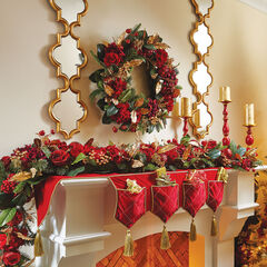 Royalty Wreath, RED GOLD