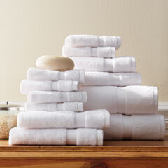 12-Pc. Zero-Twist Bath Towel Set, PEARL
