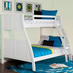 Easton Bunk Bed, WHITE