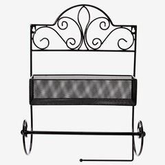 Scroll Shelf with Paper Towel Holder,