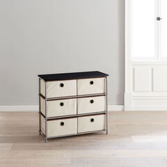 Eve 6-Drawer Storage, NATURAL
