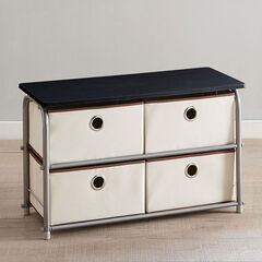 Eve 4-Drawer Storage, NATURAL