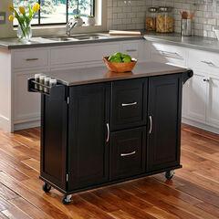 Patriot Kitchen Cart, BLACK