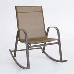 Extra Wide Outdoor Rocker, DARK BRONZE