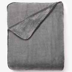 Plush Blanket, GRAY