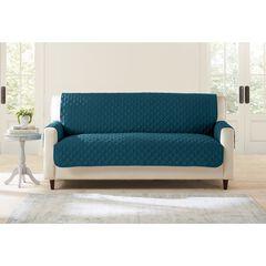 BH Studio Water-Repellent Microfiber Extra-Long Sofa Protector, PEACOCK