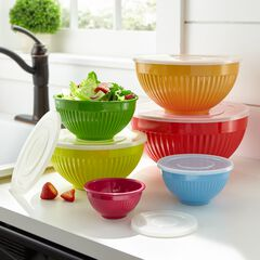 12-Pc. Mixing Bowl Set, MULTI