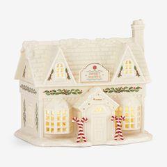 Lenox® Holiday Village Sweet Shoppe Light-Up Figurine, WHITE