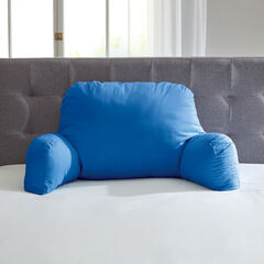 Oversized Backrest Pillow, OCEAN BLUE