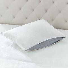 Adjusta-Zip Comfort Pillow, WHITE