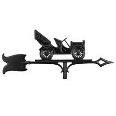 "30"" Antique Auto Accent Weathervane, BLACK"