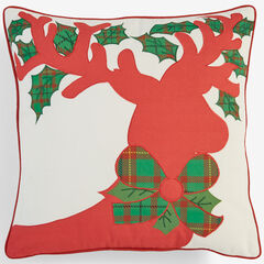 Holiday Decorative Pillows, REINDEER