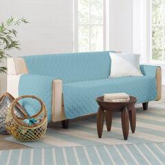 BH Studio Water-Repellent Microfiber Sofa Protector, LIGHT BLUE