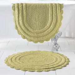 """24"""" x 40"""" Crochet Bath Mat,"""