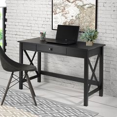 Davis Laptop Desk,, BLACK