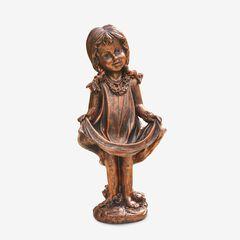 Bronze Girl Statue, BRONZE