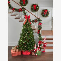 7' Pre-Lit Arrow-Tip Color Changing Tree,