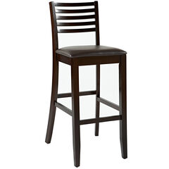 """Triena Collection Ladder Bar, Stool 30""""H,"""