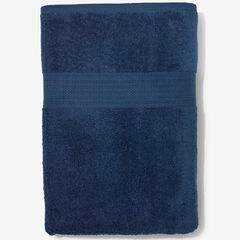 BH Studio Oversized Cotton Bath Sheet, NAVY