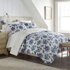Seersucker Comforter Set, GARDEN
