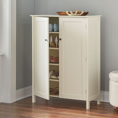Adelaide Multi-Use Shoe Cabinet, WHISPER WHITE