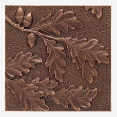 Oak Leaf Wall Décor, ANTIQUE COPPER
