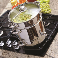 Euro Cuisine Stove Top Steam Juicer, STAINLESS STEEL