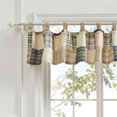 Oxford Window Valance by Greenland Home Fashions, MULTI