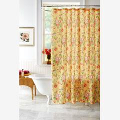 13-Pc. Vintage Floral Shower Curtain Set,