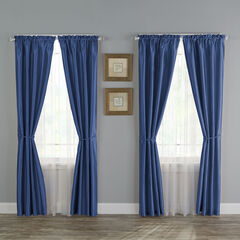 12-Pc. Faux Silk Window Set,