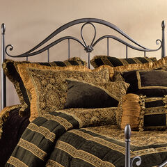 "Full/Queen Headboard with Headboard Frame, 71½""Lx62""Wx56""H,"
