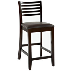 """Triena Collection Ladder Counter Stool, 24""""H,"""